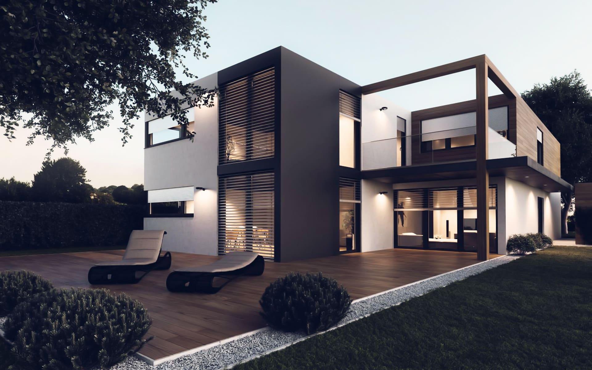 Fenster für modernes Wohnen
