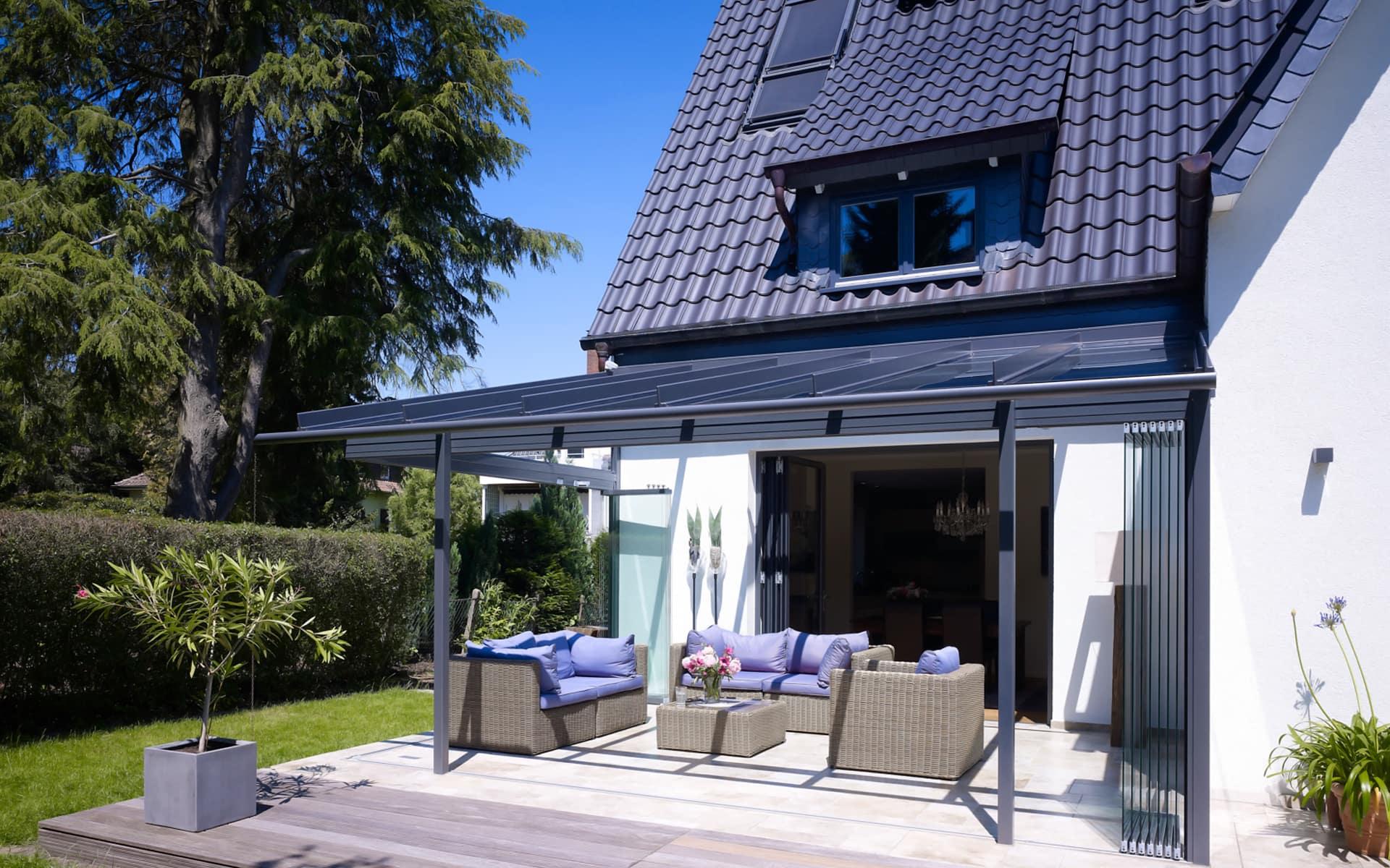Terrassenüberdachung für mehr Spaß im Freien