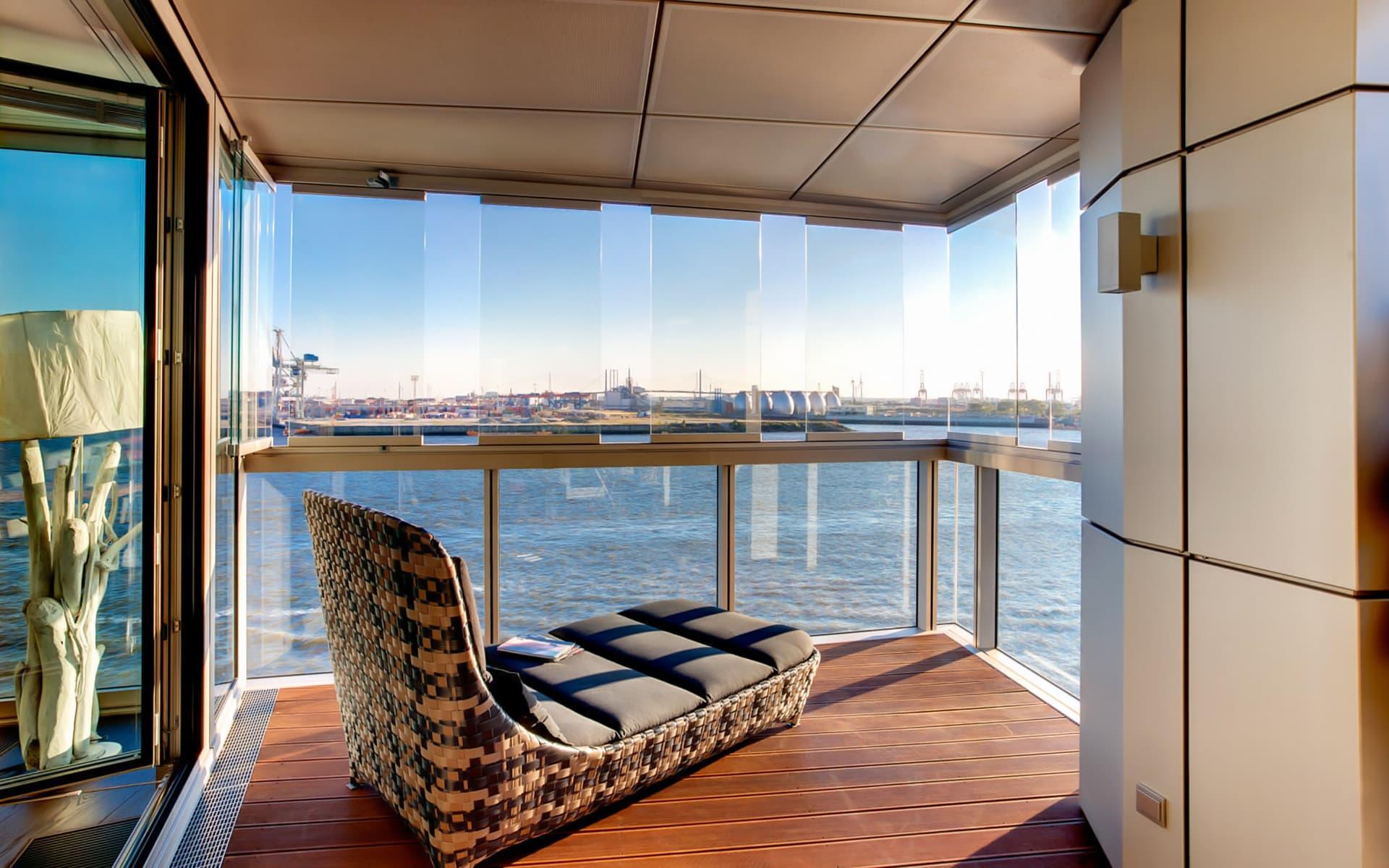 Balkonverglasungen sorgen für perfekte Sicht