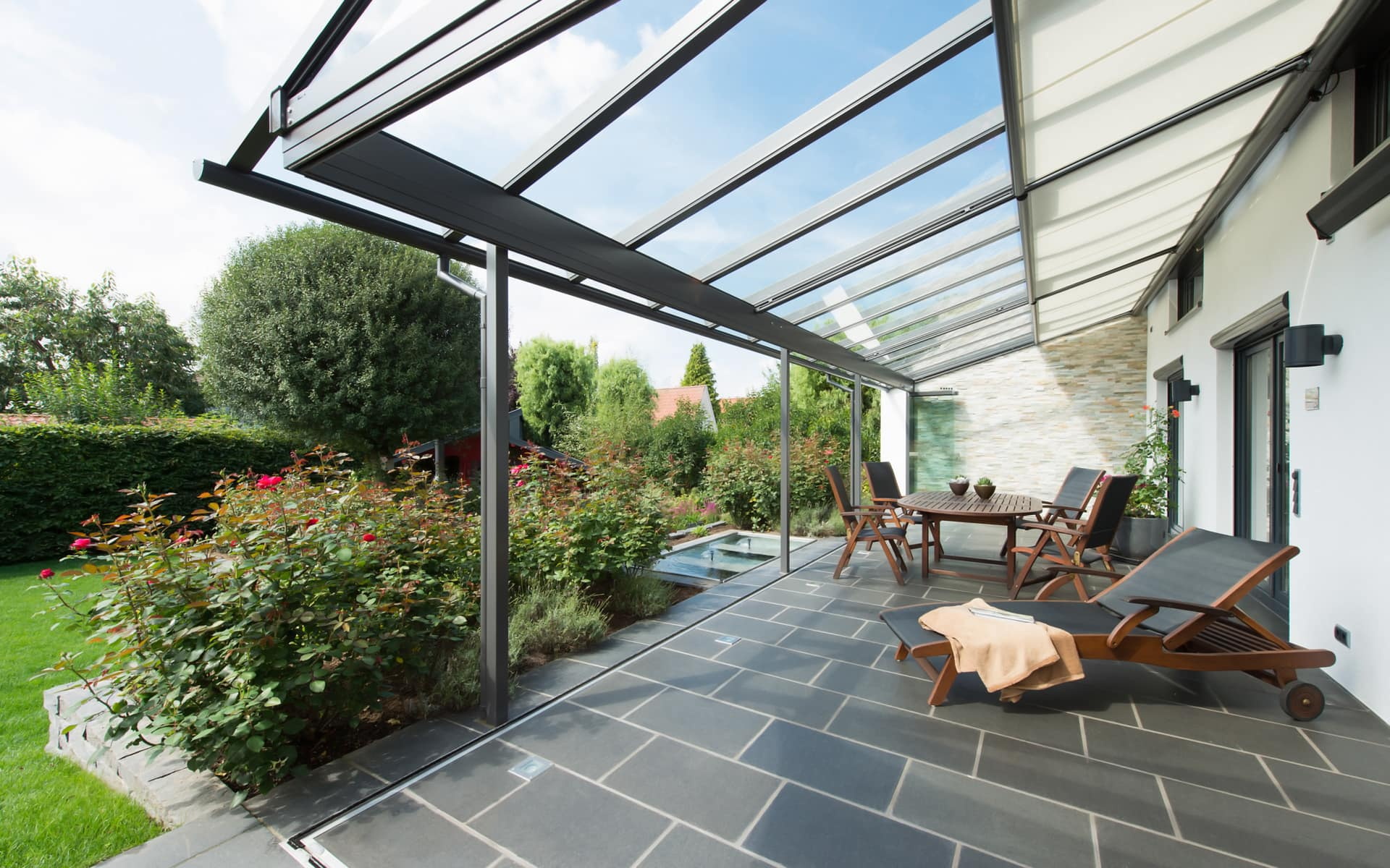 Terrassendach für mehr Spaß im Garten