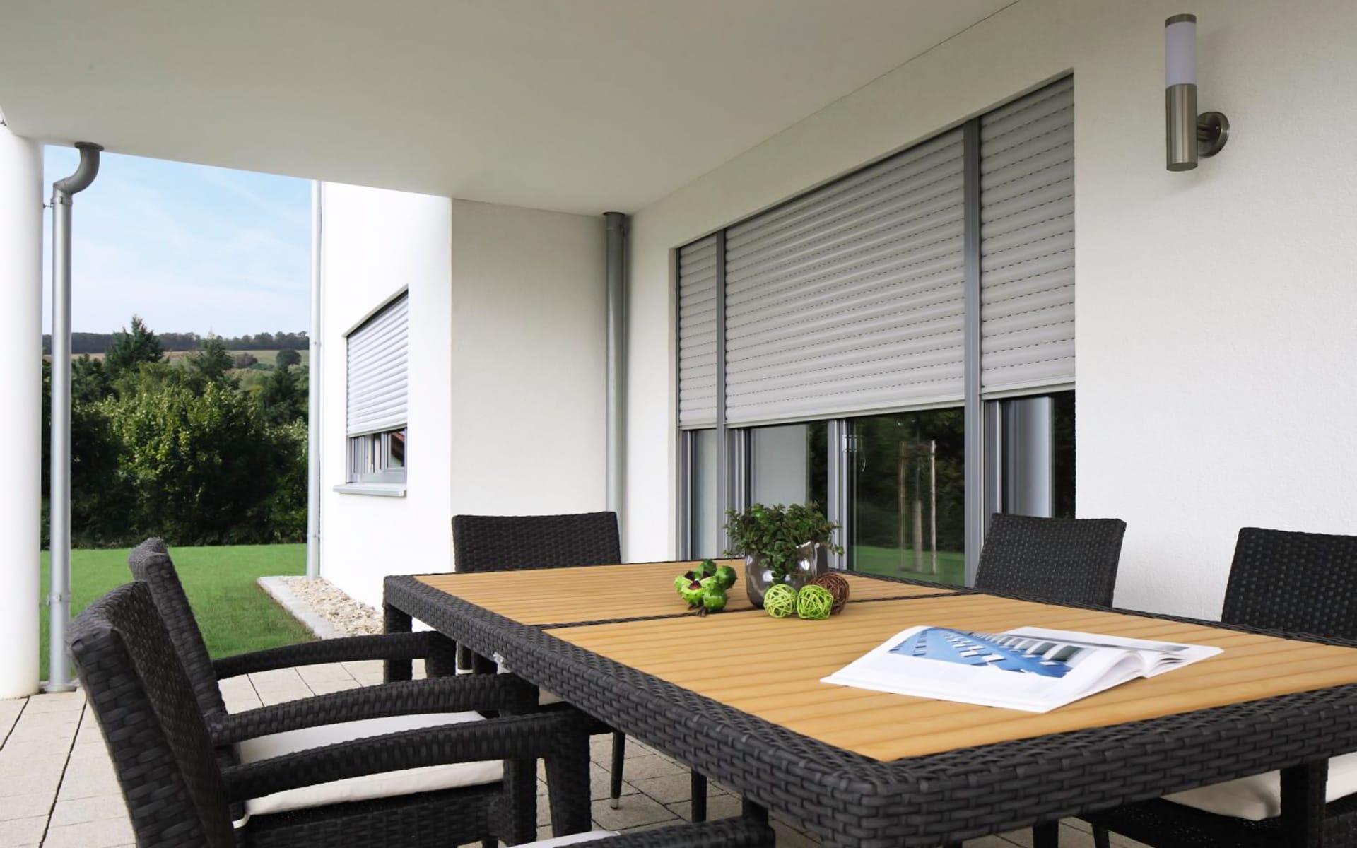 Moderne Jalousien für Ihre Fenster