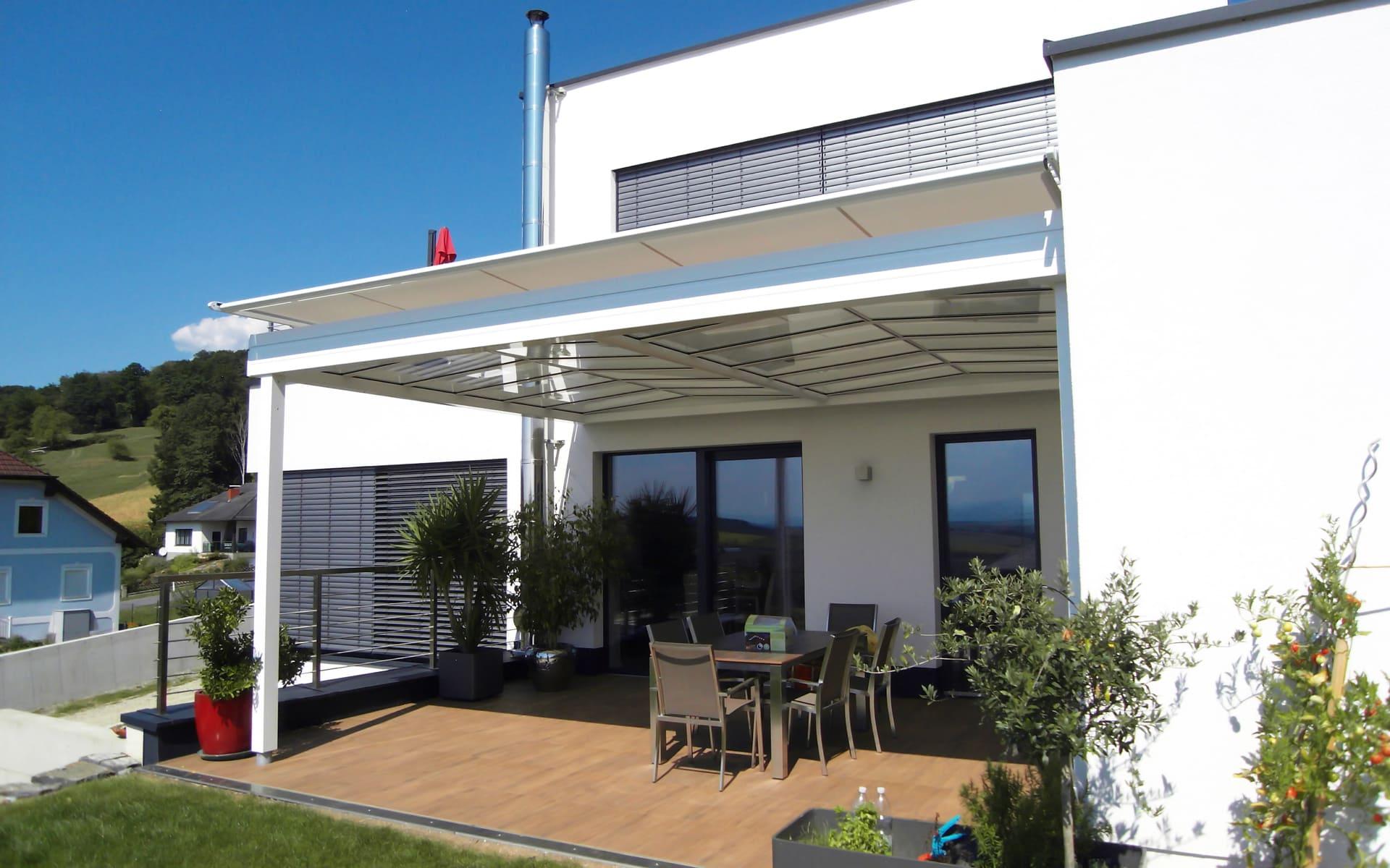 Moderne Lösungen für Terrassenüberdachungen