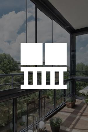Moderne Balkonverglasungen mit System