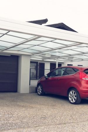 Ein Carport schützt Ihr Auto zuverlässig!