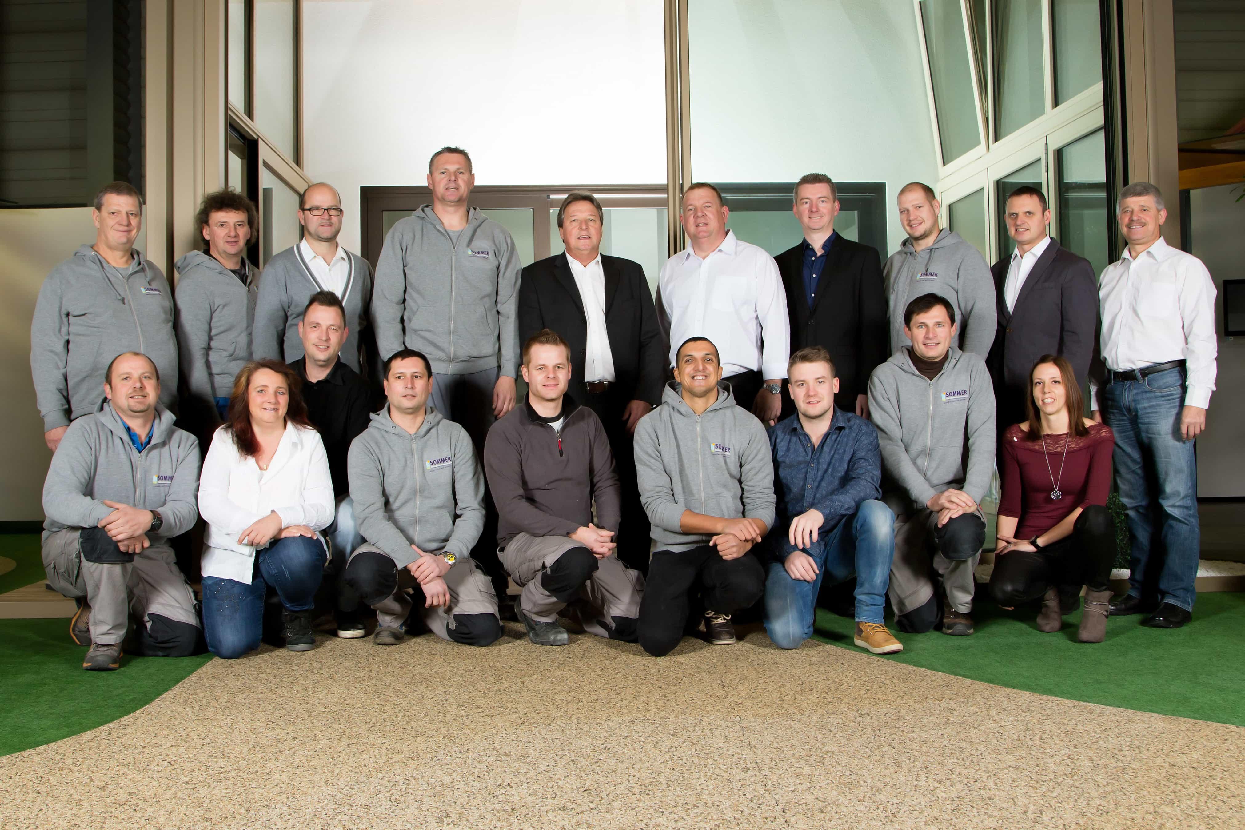 Das Sommerdorf-Team aus Stoob