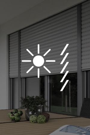 Rollläden garantieren optimalen Sonnenschutz